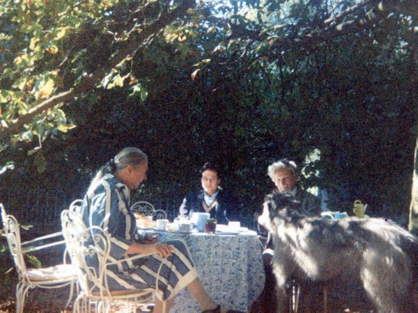 Dai conti Knyphausen castello di Remseck 1989