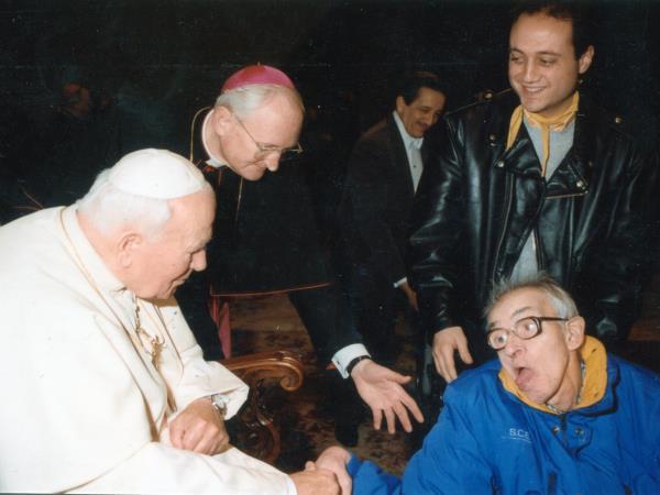 Roma durante il servizio civile all'AIAS 2000