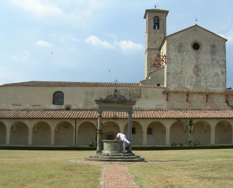 Certosa di Pontignano Siena luglio 2012