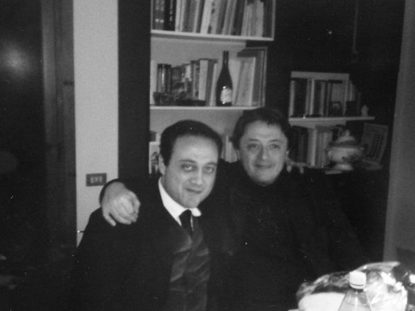 Con Marino Biondi,